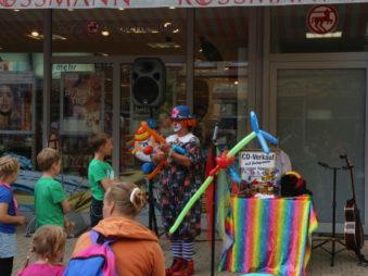 Ballonmodellieren Straßenfest-Karolini